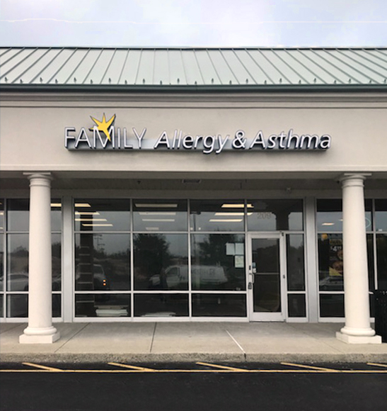 Milford Office Front Sign