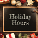 holiday hours at our family allergy offices