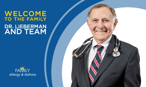 Welcome to the Family, Dr. Lieberman!